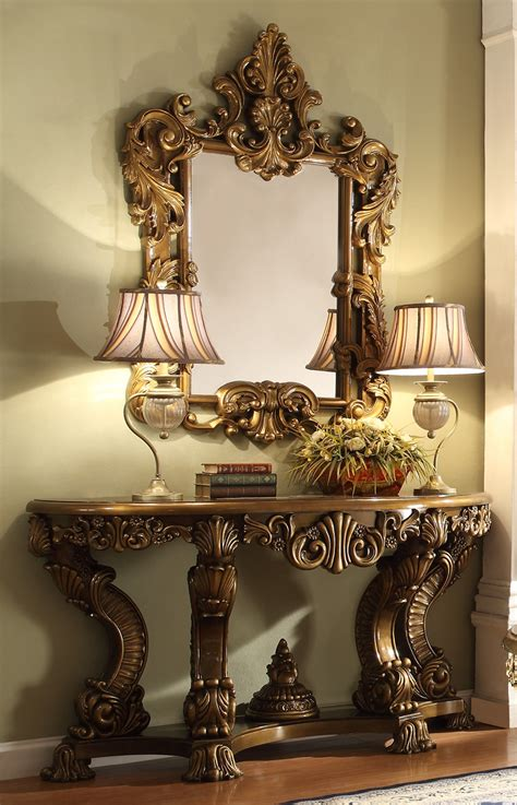 homey design hd  victorian palace entrance table
