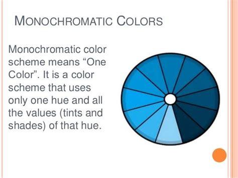 monochromatic color definition definition monochromatic color scheme easy home