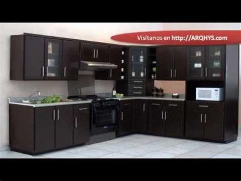 cocinas integrales  espacios pequenos youtube