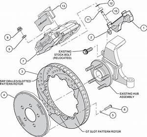 Wilwood Disc Brake Kit 98 13