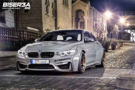 first bmw meet the first lebanese liberty walk bmw m4 biser3a