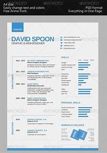 Awesome resume cv templates 56pixelscom for Free 1 page resume template