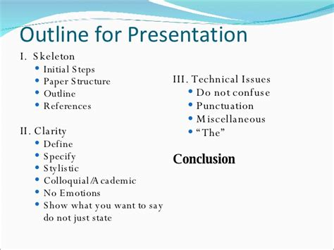 technical writing skills  research paper