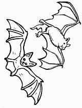 Coloring Bat Pages Halloween Coloringpages1001 sketch template