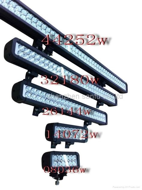 4x4 led road light bar 36 72 120 144 108 180 240 252w