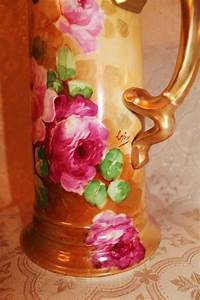 Truly Magnificent Antique Limoges France Large Tankard