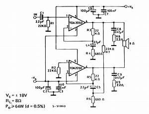 tda2050 bridge amplifier circuit google search With subwoofer amplifier