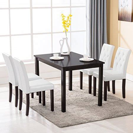 piece dining table set  chairs kitchen room breakfast