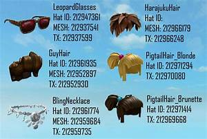 Roblox gear codes Finding Roblox clothes code hair - satukis