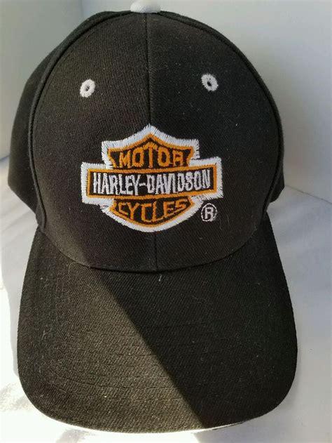 HARLEY DAVIDSON Motor CyclesBall Cap Black has Adjustable ...