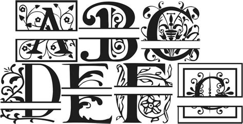 monogram fonts bing images  monogram fonts cricut monogram font  monogram