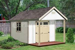covered porch plans 16 39 x 12 39 cabin shed covered porch plans plueprint p61612 free material list 21 95 picclick