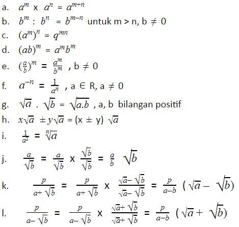 kumpulan rumus matematika smp kelas 9 lengkap dengan contohnya rumus dasar
