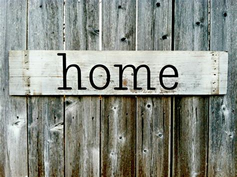 Home Decor Rustic And Refined Home: Handmade Wall Decor Home Rustic Wooden Sign By RusticDeSIGNS1