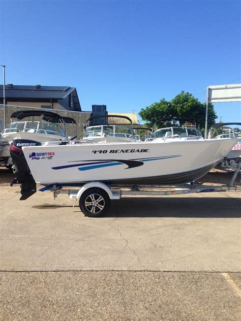 Aluminium Boats For Sale Qld by New Quintrex 440 Renegade Power Boats Boats For