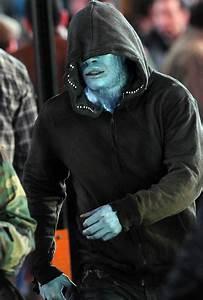 """Vejam Jamie Foxx no set do filme """"O Espetacular Homem ..."""