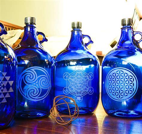 Five Liter Sandblasted Bottle | Blue Bottle Love