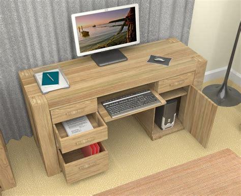 home office computer desk 10 elegant oak computer desk design ideas minimalist