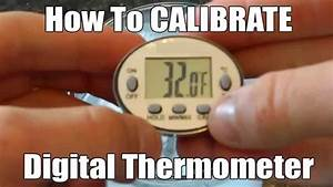 How To Calibrate Food Thermometers For Accuracy