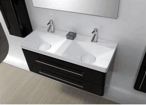 meuble meuble salle de bain double vasque pas cher