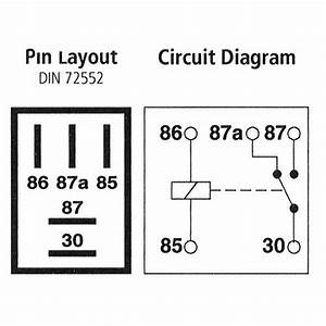 How To Wire A 5 Pin Relay Diagram