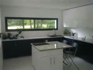 fenetre panoramique cuisine pour notre maison With fenetre panoramique