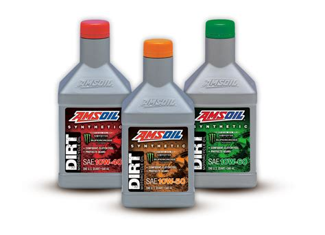 New Amsoil Synthetic Dirt Bike Oil