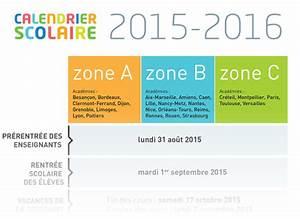 Dates De Vacances Scolaires 2016 : cr er un calendrier de l ann e scolaire 2015 2016 imprimer blog du mod rateur ~ Melissatoandfro.com Idées de Décoration