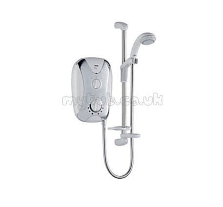 mira play 9 5 kw electric shower mira play 9 5kw shower satin inc chrome plated pnl