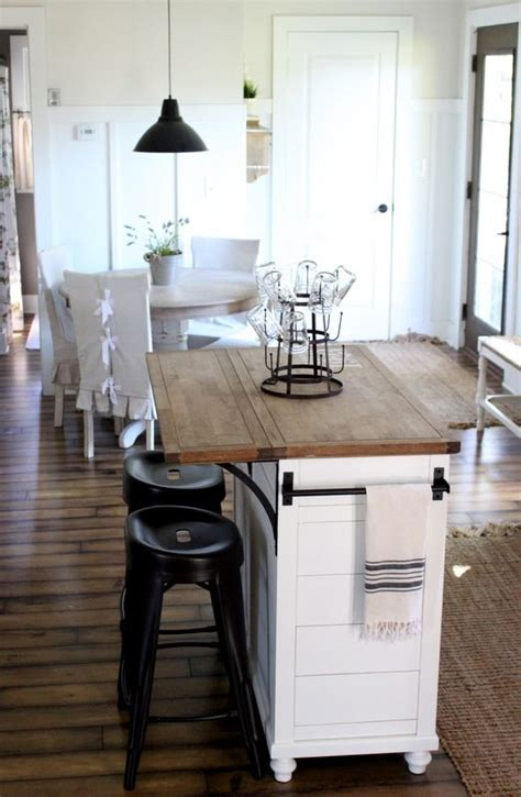 kitchen island with seating for small kitchen take a of stock furniture and make it your own