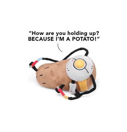 Portal Plush Potatos Potato Thinkgeek Toys Glados