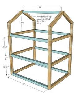 Simple Plans To Build A Dollhouse Placement by White Dollhouse Diy Projects