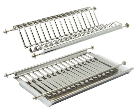 plate rack  drainer tray stainless steel   mm cabinets haefele uk shop