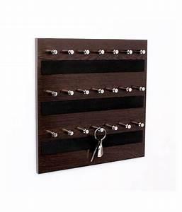 Regis Wall Mounted Key Chain Holder Board - Skywood Wenge