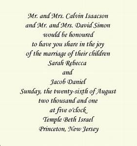 Traditional wording both sets of parents co host for Wedding invitation wording uk both parents
