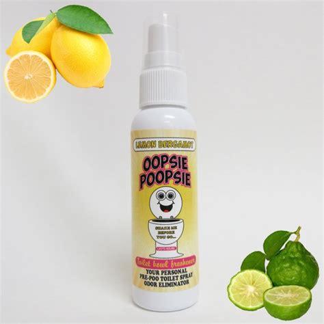 bathroom toilet spray odor eliminator