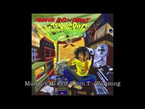 Mungo's Hi Fi Ft Soom T  War Song [scrub008] Youtube