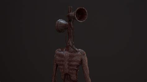 3D memes Siren Head   CGTrader