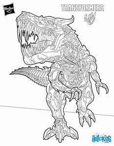 Grimlock coloring pages - Hellokids.com