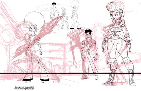 modelsheets  find  horizon   drawing