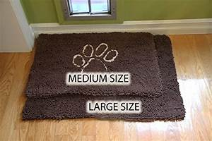 dog quotextra thickquot micro fiber door mat super absorbent With absorbent floor mats for dogs