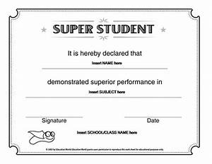 microsoft word super student certificate template award With student certificate templates for word