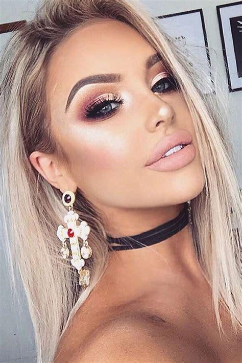 blonde eyebrows tutorial    fuller natural  eyebrows makijaz ust makijaze