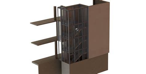 bureau acier et verre escalier caillebotis de secours rdmetal bureau