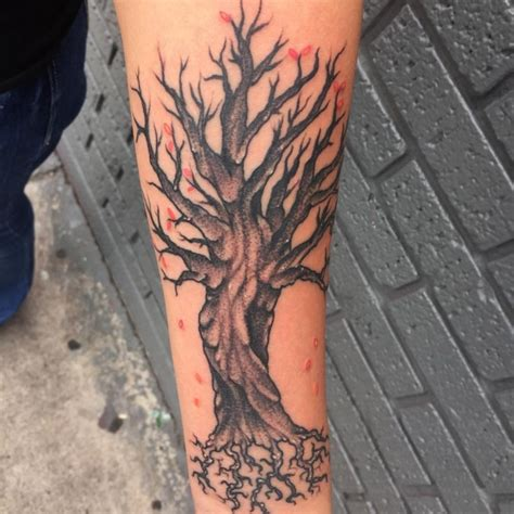 Type Of Christmas Trees by 85 Best Tree Tattoo Designs Amp Meanings Family Inspired
