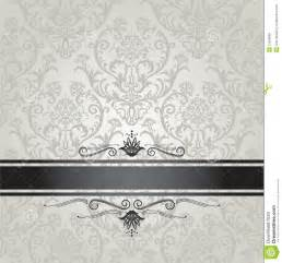 mod 232 le argent 233 de luxe de papier peint floral avec le noir