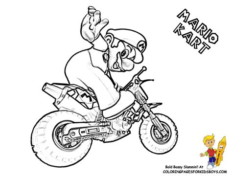 mario kart coloring pages daring mario coloring pages yoshi free wario
