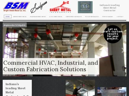 bright sheet metal co inc sheet metal services indianapolis in