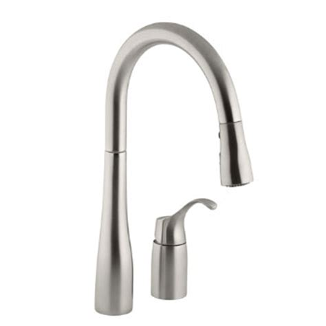 Kohler K647vs Simplice Single Handle Pulldown Kitchen