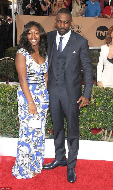 Idris Elba has day out with son Winston and fiancée ...
